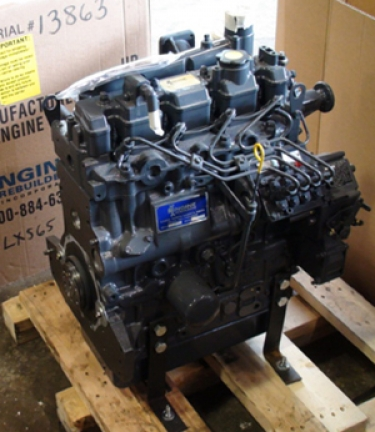 New and remanufactured engines