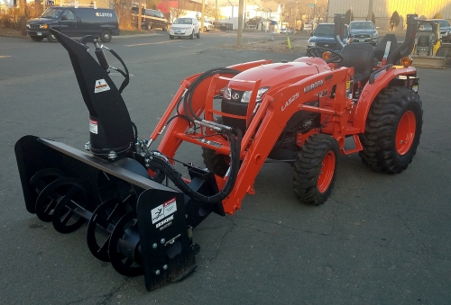 Custom Snowblower Packages